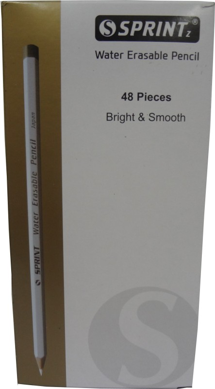 Sprintz Graphite White Pencil(Pack of 48)