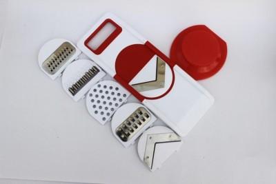 DATTHA Plastic, Stainless Steel Potato, Apple, Carrot, Strawberry Slicer