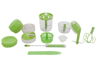 Dolphy Plastic, Stainless Steel Grater and Slicer(Pack of 14) at flipkart