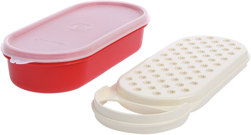 Tupperware Plastic Carrot Grater(Red, White)