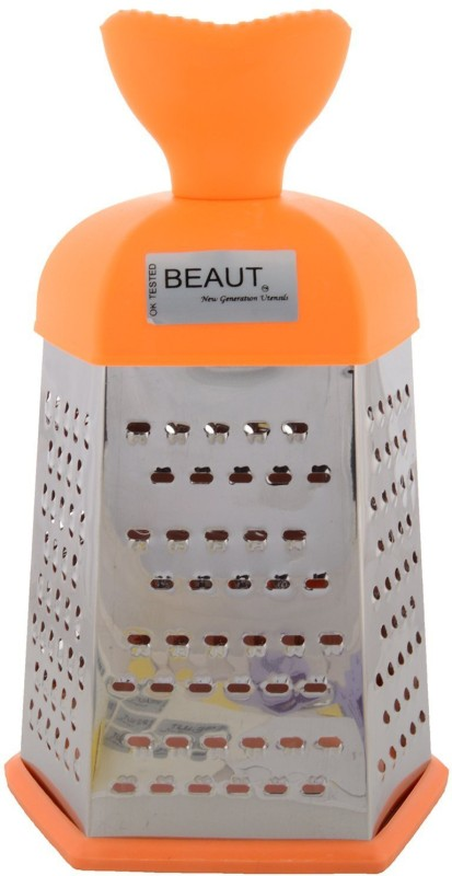 Beaut Stainless Steel Carrot, Potato, Apple Grater(Orange)