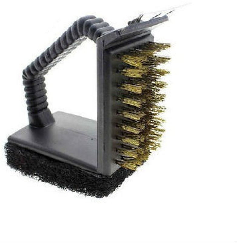 Shrih SH - 01821 3-in-1 BBQ Cleaning Handy Grill Brush