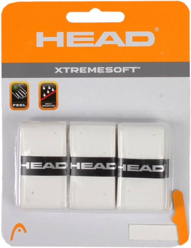 Head Extreme Soft Gripper(White, Pack of 3)