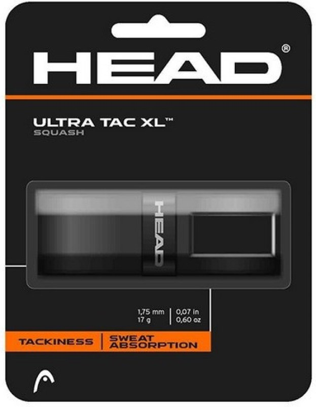 Head Ultra Tech Gripper(Black, Pack of 1)