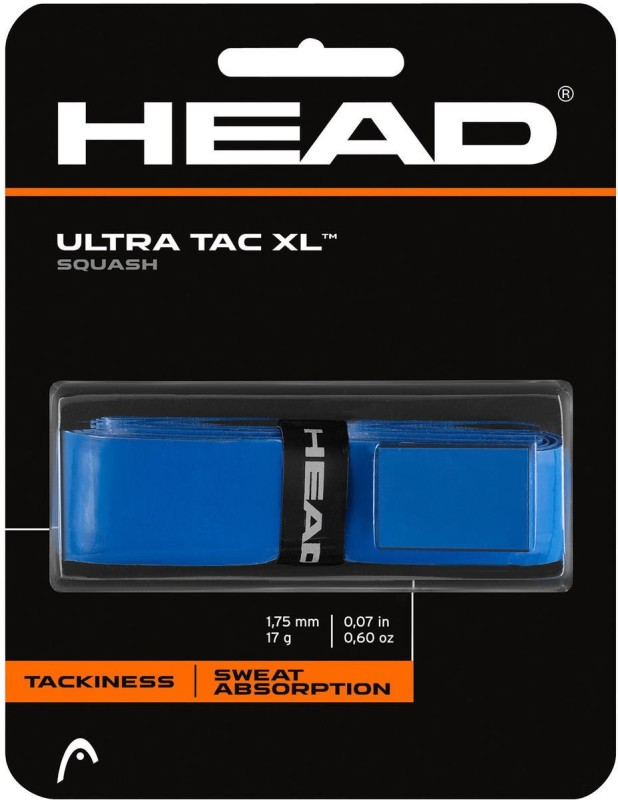 Head Ultratac XL Smooth Tacky  Grip(Blue, Pack of 1)