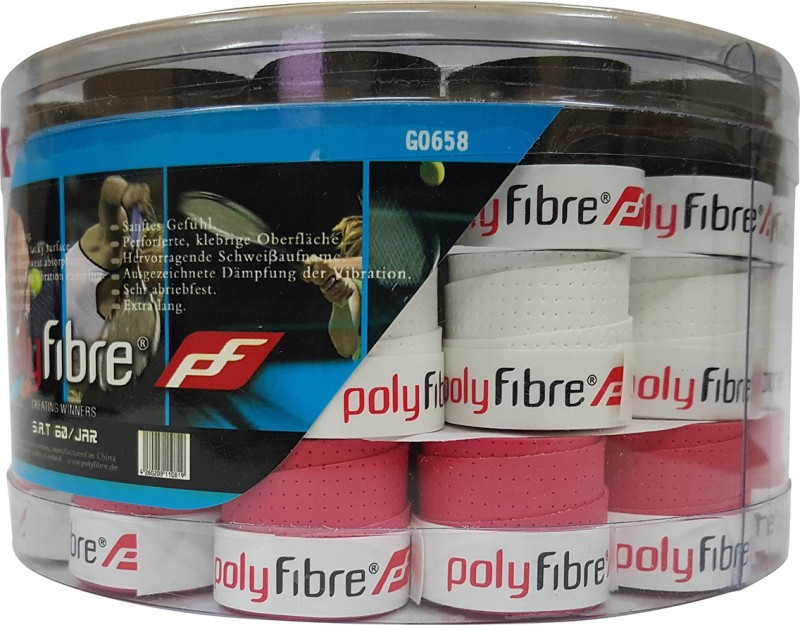 Polyfibre S.A.T Set Of 60 Super Tacky  Grip(Multicolor, Pack of 60)