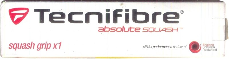 Tecnifibre Absolute Squash(White, Pack of 1)