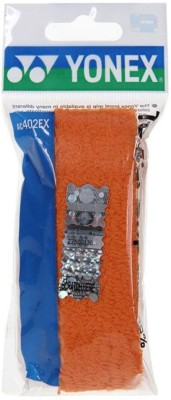 Yonex AC 402 Ex Towel Grip(Grey, Black, Red, Orange, Blue, Yellow, Pack of 1)