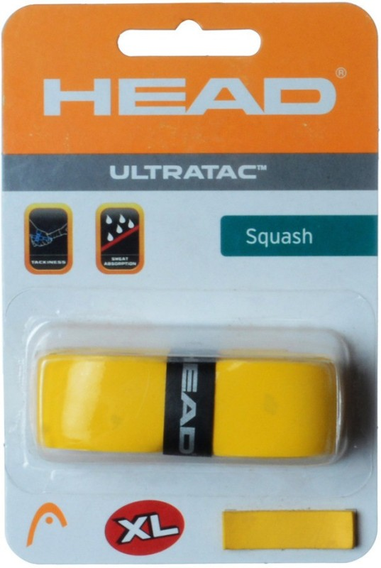 Head Ultra Tec YLW Gripper(Yellow, Pack of 1)