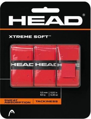 Head XTREMESOFT Super Tacky Grip(Red, Pack of 1)