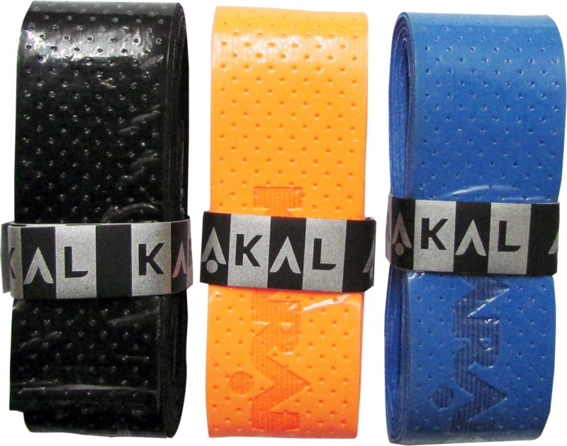 KARAKAL POINT 75 AIR Tacky Touch  Grip(Multicolor, Pack of 3)
