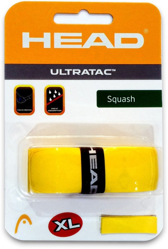 Head Ultratac XL Smooth Tacky  Grip(Yellow, Pack of 1)