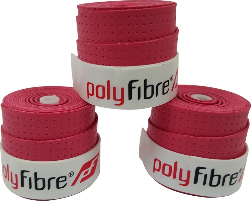 Polyfibre S.A.T Set Of 3 Super Tacky  Grip(Pink, Pack of 3)