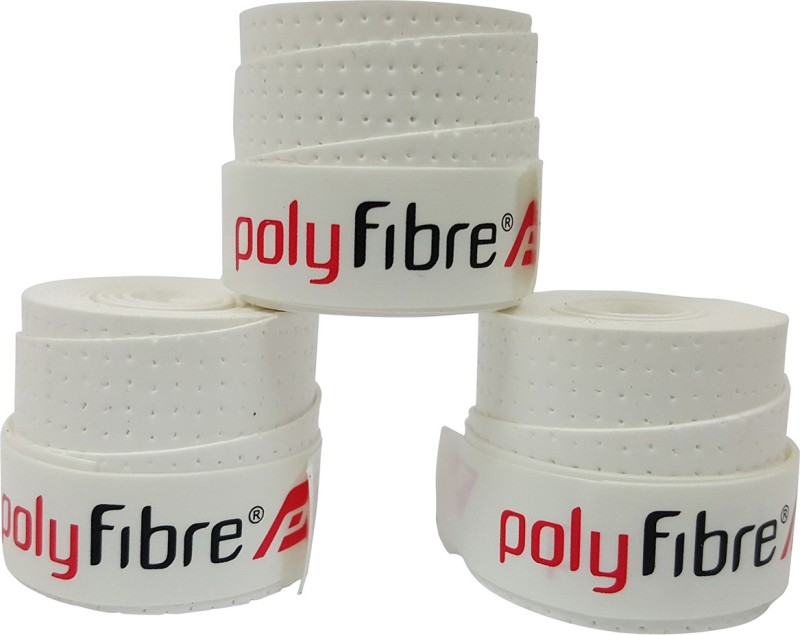Polyfibre S.A.T Set Of 3 Super Tacky  Grip(White, Pack of 3)