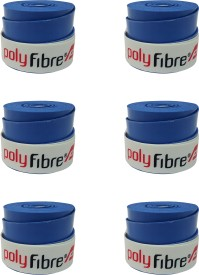 Polyfibre Omni Set Of 6 Smooth Tacky Grip(Blue, Pack of 6)