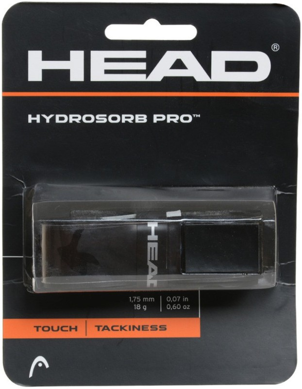 Head Hydrosorb Pro Black Spring Band  Grip(Black, Pack of 3)