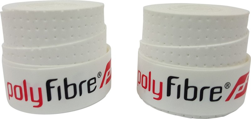 Polyfibre S.A.T Set Of 2 Super Tacky  Grip(White, Pack of 2)