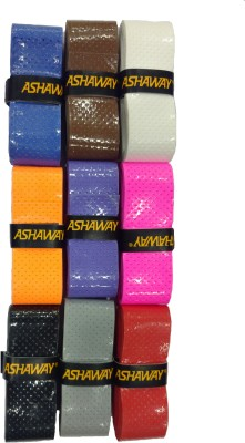 ASHAWAY AGR12(Assorted color Set of 9 pc) Smooth Tacky  Grip