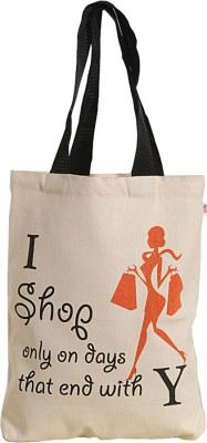 Swayam Canvas with Nice Graffitis Grocery Bag