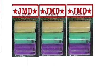 JMD HOMEWARE Pack of 9 Grocery Bags(Multicolor)