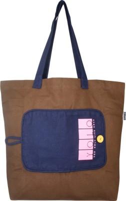 Yolo Belia - MBChocolateBrown Grocery Bag