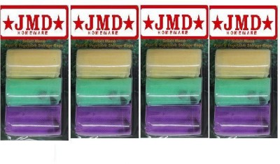 JMD HOMEWARE Pack of 12 Grocery Bags(Multicolor)