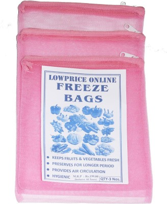 Lowprice Online Pack of 3 Grocery Bags
