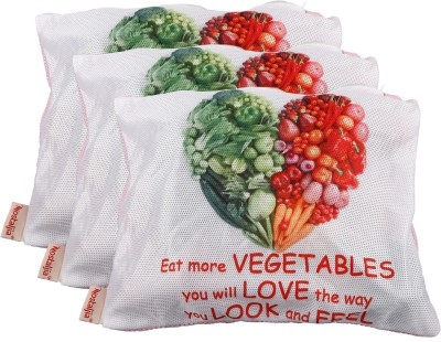 Nostaljia Pack of 3 Grocery Bags