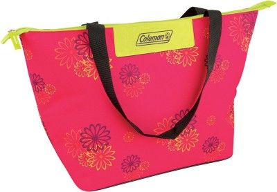 Coleman Pink Daisy Grocery Bag