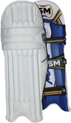 SM Vigour Batting Leg Guard(White)