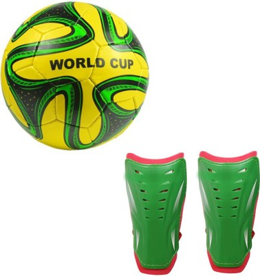 Monika Sports Moni Football With Shin Guard