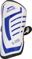 Slazenger V-200 Shin Guard(L, White, Blue)