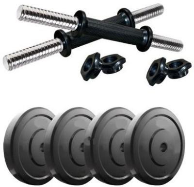 STAR X 8 kg dumbbell set Gym(Black)