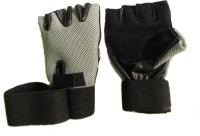 Manthan Weight Lifting Gloves Men Gym(Grey)
