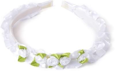 BabyZinnia Roses Flower Bunch Crown Head Band
