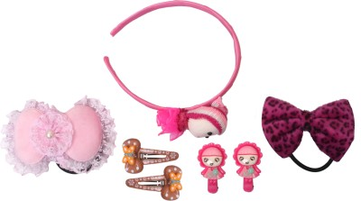 Takspin Kids combo Hair Accessory Set(Multicolor)