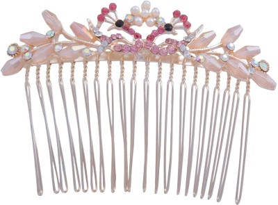 Pink Rose Princess Delight Hair Clip