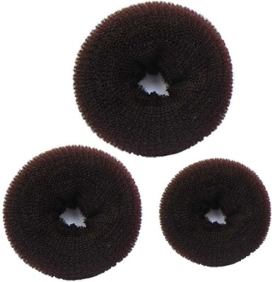 HomeoCulture Donuts Hair Accessory Set(Black)