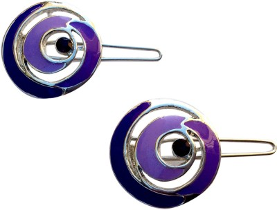 B-Fashionable Spiralling Epoxy Wire Clasp Hair Pin