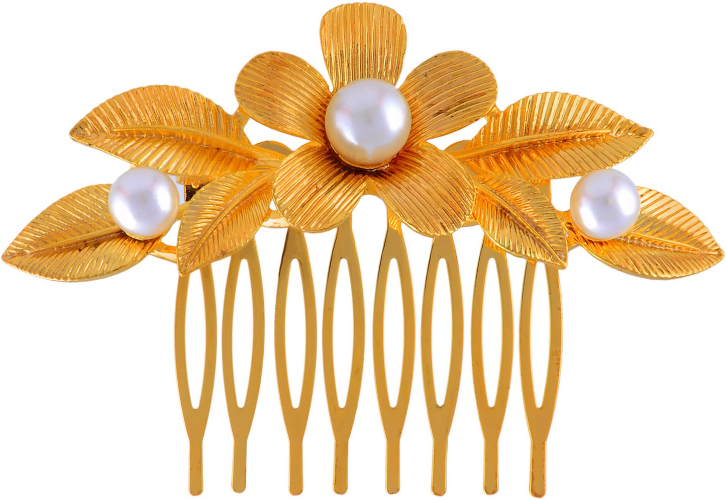 K.R.S. Jewels H18 Hair Clip(Yellow)