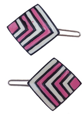 B-Fashionable Arrow Stripes Square Wire Clasp Hair Pin