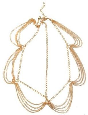 Dilan Jewels Tiara Royal Tassles Hair Chain