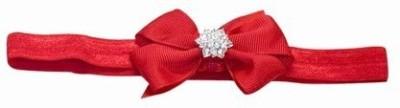 Pink & Blue India Kids Soft Bow and Diamond Embellishment Head Band