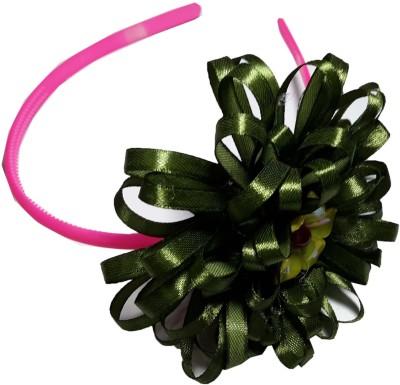 Apeksha Arts Green Floral Hair Band Head Band
