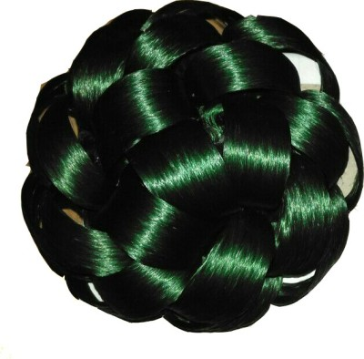 Ragahv Hairs Pakistani Green Hair Bun