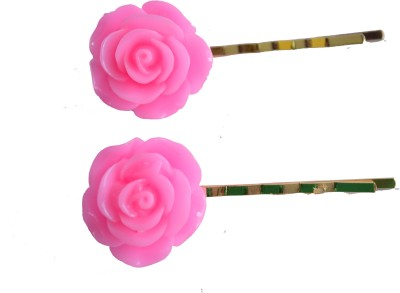 Bows Are Wows Pink Rose Hair Pin