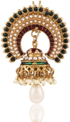 I Jewels Pearl With Jhumka Hair Pin