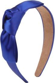 Fayon Trendy Fashion Navy Bow Hair Band(Blue)