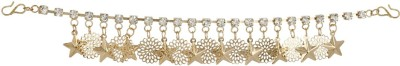 Prita Rose Gold Designer Multipurpose Star Hair Accessory Set