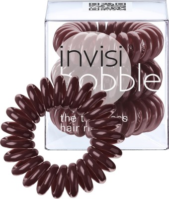 Invisibobble Traceless Ring Chocolate Brown Rubber Band